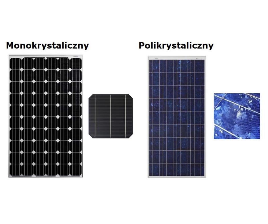 Monokrystaliczny vs. polikrystaliczny