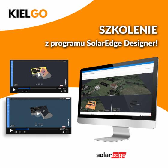 Kompleksowe szkolenie z projektowania instalacji w programie SolarEdge Designer